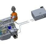Установка датчика расхода топлива на дизельный двигатель